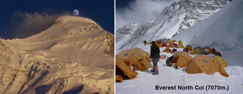Full board guided Cho Oyu & Everest north side expedition spring 2016