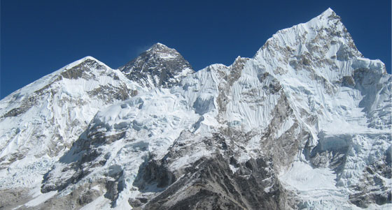 The land of Mt. Everest, Highest peak in world