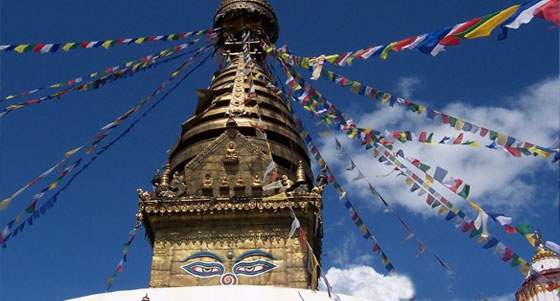 World Heritage Site Swayambhunath