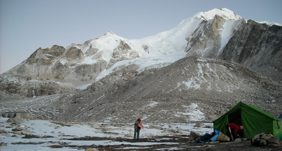 Lark Peak Base Camp