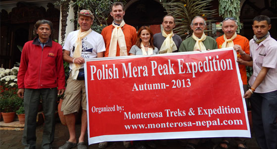 Submit of Mera Peak
