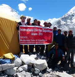 Cho Oyu Expedition 2013