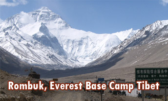 Rombuk Tibet Everest Base Camp
