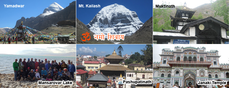 Holy Tour in Nepal and Kailash