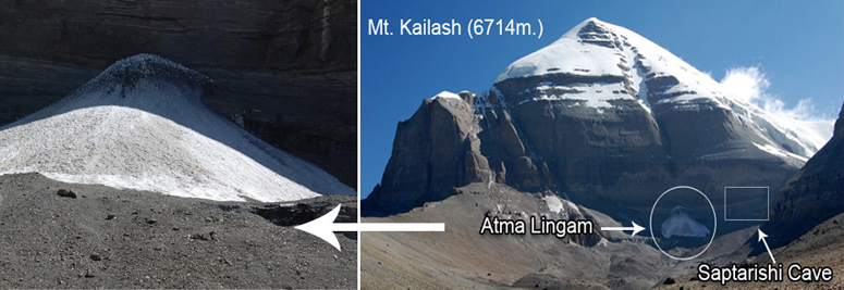 Atma Lingam (Base of Mount Kailash)